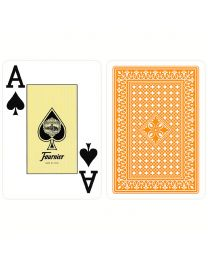 818 Poker Fournier playing cards orange