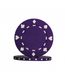Purple Poker Chips Suit