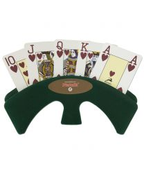 Deluxe Piatnik Playing Card Holder Green