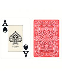 Red Texas Poker Playing Cards Modiano