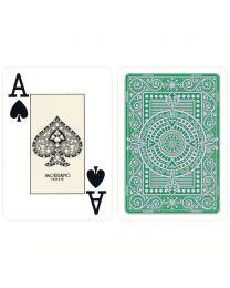 Green Texas Poker Playing Cards Modiano
