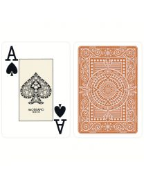 Brown Texas Poker Playing Cards Modiano