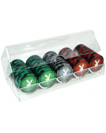 Playboy poker chip set 100