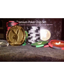 Playboy poker chip set 300