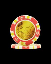 Euro Design Chip 50 Cent