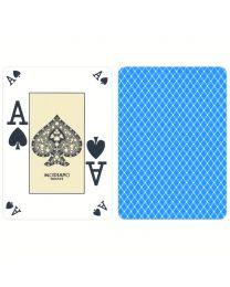 Modiano Plastic Poker Index Casino Cards Light Blue