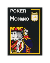 Poker Modiano Cards Black