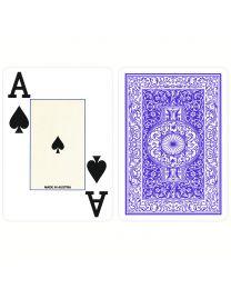Poker 100% Plastic Jumbo Index Piatnik Playing Cards Blue