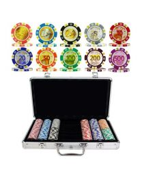 Poker Set Euro Design 300 Chips