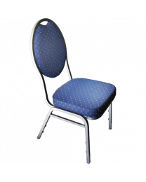 Stack Chair Poker Blue