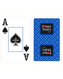 COPAG Plastic Bridge Playing Cards PokerStars Blue