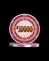 Ceramic pokerchips classics €10000