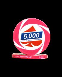 European Poker Tournament II Chips 5.000
