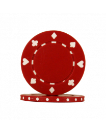 Red Poker Chips Suit
