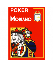 Poker Modiano Cards Red