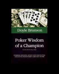 Doyle Brunson Poker Wisdom of a Champion