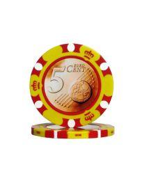 Euro Design Chip 5 Cent