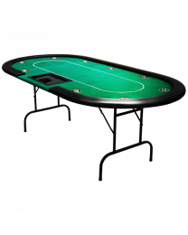 Poker Table Poker Dealer Tray Green