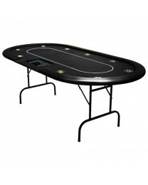 Poker Table Poker Dealer Tray Black