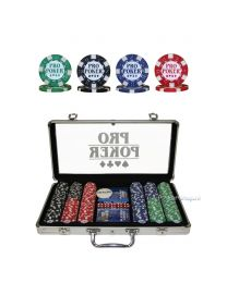 Pro Poker 300 Chips Poker Game Set