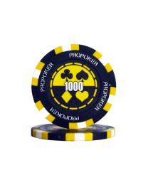 Chips Pro Poker 1000