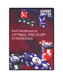 Rolf Slotboom Optimal Pre-Flop Strategies