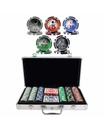 Las Vegas Royal Flush Poker Set 300