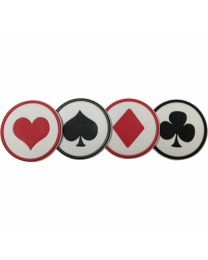 Casino Coaster Set