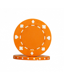 Orange Poker Chips Suit