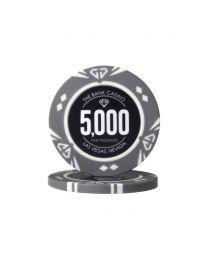 Diamond Poker Chips Five Thousand