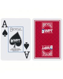 Bicycle WPT Playing Cards Red