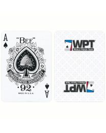 WPT Playing Cards white