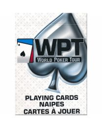 WPT poker playing cards