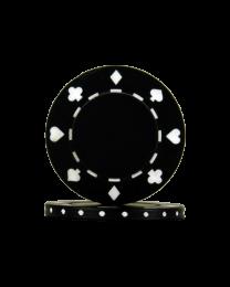 Black Poker Chips Suit