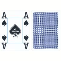 Poker cards Copag blue 4 corner index