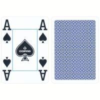 Poker cards Copag blue 4 corner index
