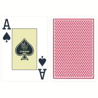 COPAG Texas Holdem cards red