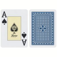 818 Poker Fournier playing cards blue