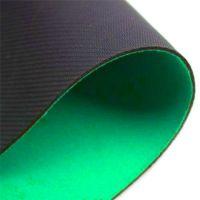 Rubber poker table top - poker felt green