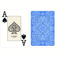 Light Blue Texas Poker Playing Cards Modiano
