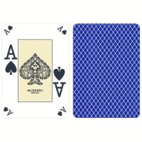 Modiano Plastic Poker Index Casino Cards Blue