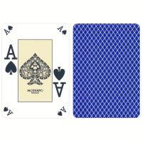 Modiano Plastic Poker Index Casino Cards Blue