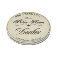 Poker Room Dealer Button The Valentino