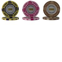 Poker Chips Monte Carlo