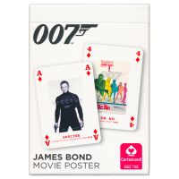 007 James Bond movie poster playing cards