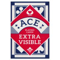 ACE Playing Cards Extra Visible Blue