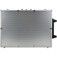 1000 PCS Aluminum Chip Case with Trolley and Wheels