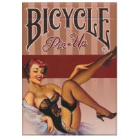 Bicycle Pin-Up Cards