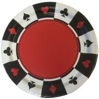 Casino Plates (8 Pieces)