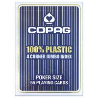COPAG 4 Corner Jumbo Index Blue Playing Cards
